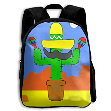 B-Dream Cactus - Mochilas Escolares para niños y niñas con Correas reforzadas: Amazon.es: Hogar