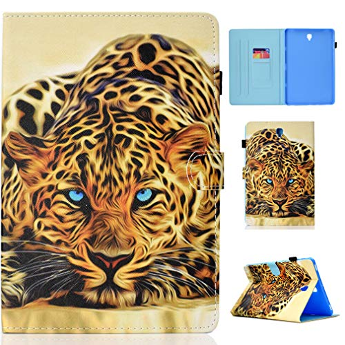 LMFULM? Case for Samsung Galaxy Tab S4 / SM-T830 / T835 / T837 (10.5 Inch) PU Leather Ultra-Thin Magnetic Closure Folding Leather Cover Graffiti Pattern of Bookstyle With Auto Sleep / Wake Function an Color-8