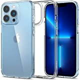 Spigen Ultra Hybrid [Anti-Yellowing Technology] Designed for iPhone 13 Pro Case (2021) - Crystal Clear