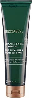 product image for Biossance Squalane + Tea Tree Cleansing Gel - Gel Cleanser for Oily, Breakout-Prone Skin - No Parabens - Vegan + Fragrance-Free (150ml)