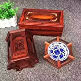 OLQMY The living room Sambo, rosewood box, pen, ashtray, three sets of fashion ornaments