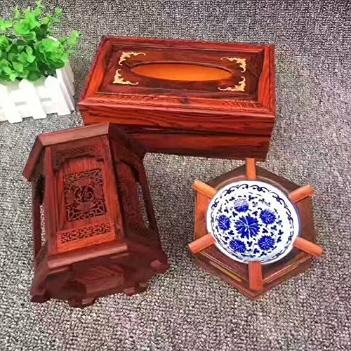 OLQMY The living room Sambo, rosewood box, pen, ashtray, three sets of fashion ornaments by OLQMY
