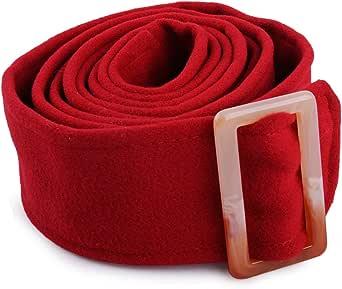 175x5cm Unisex Faux Wool Belt Woolen Sash Tie for Trench Coat Overcoat Jacket