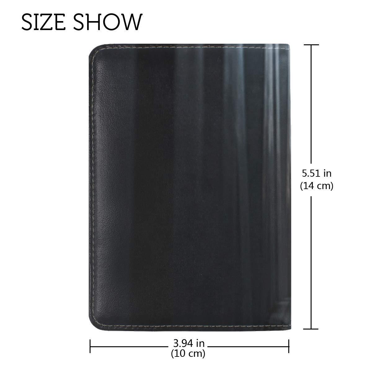 Corridor Passage Architecture Leather Passport Holder Cover Case Travel One Pocket