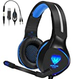 Amazon Price History:Xbox one headset,Henscoqi Gaming Headset for PS4 Xbox one 3.5mm Over-Ear Bass Surrounding Stereo Gaming Headphone with Mic,Noise Isolating Earbuds Ear Muffs for PS4,Xbox One,PC,Nintendo Switch,Laptop