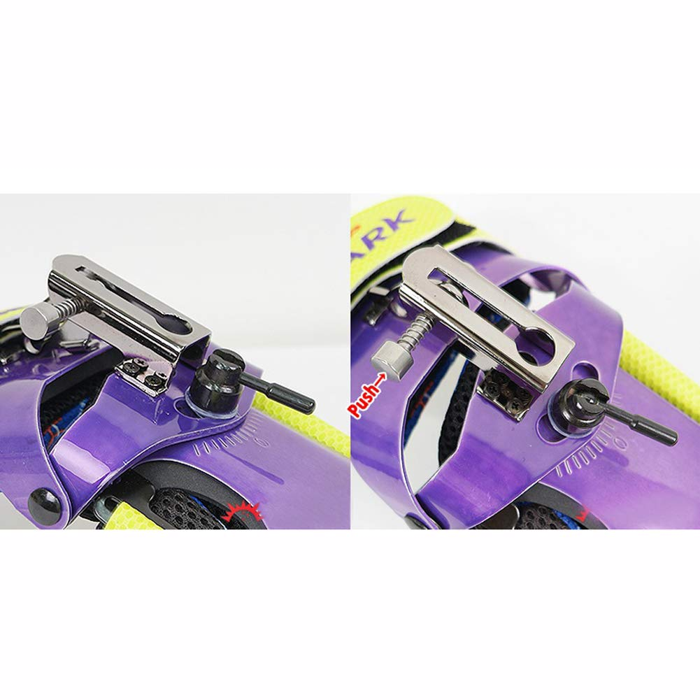 Rev-Up Shark Mongoose Bowling Wrist Support Accessories for Right Hand Purple Color (S) by [Rev-UpOEM] (Image #4)