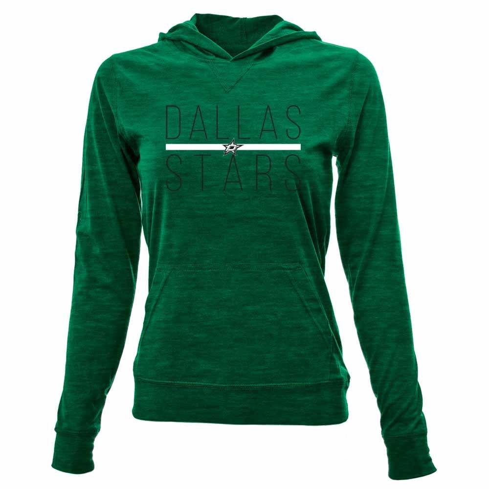 Levelwear LEY9R リカバリ―ライン Em Upプルオーバーフード付きミッドレイヤー B074PKMM4R Large|Rider Green|Dallas Stars Rider Green Large