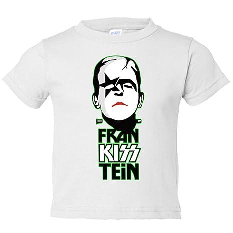 Camiseta niño FranKissTein Kiss Frankenstein - Blanco 5b93e6431b194