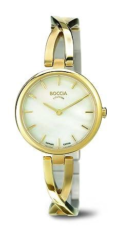 Boccia Montre Femme Quartz 3239 Bracelet 03 Analogique OX0P8nwNk