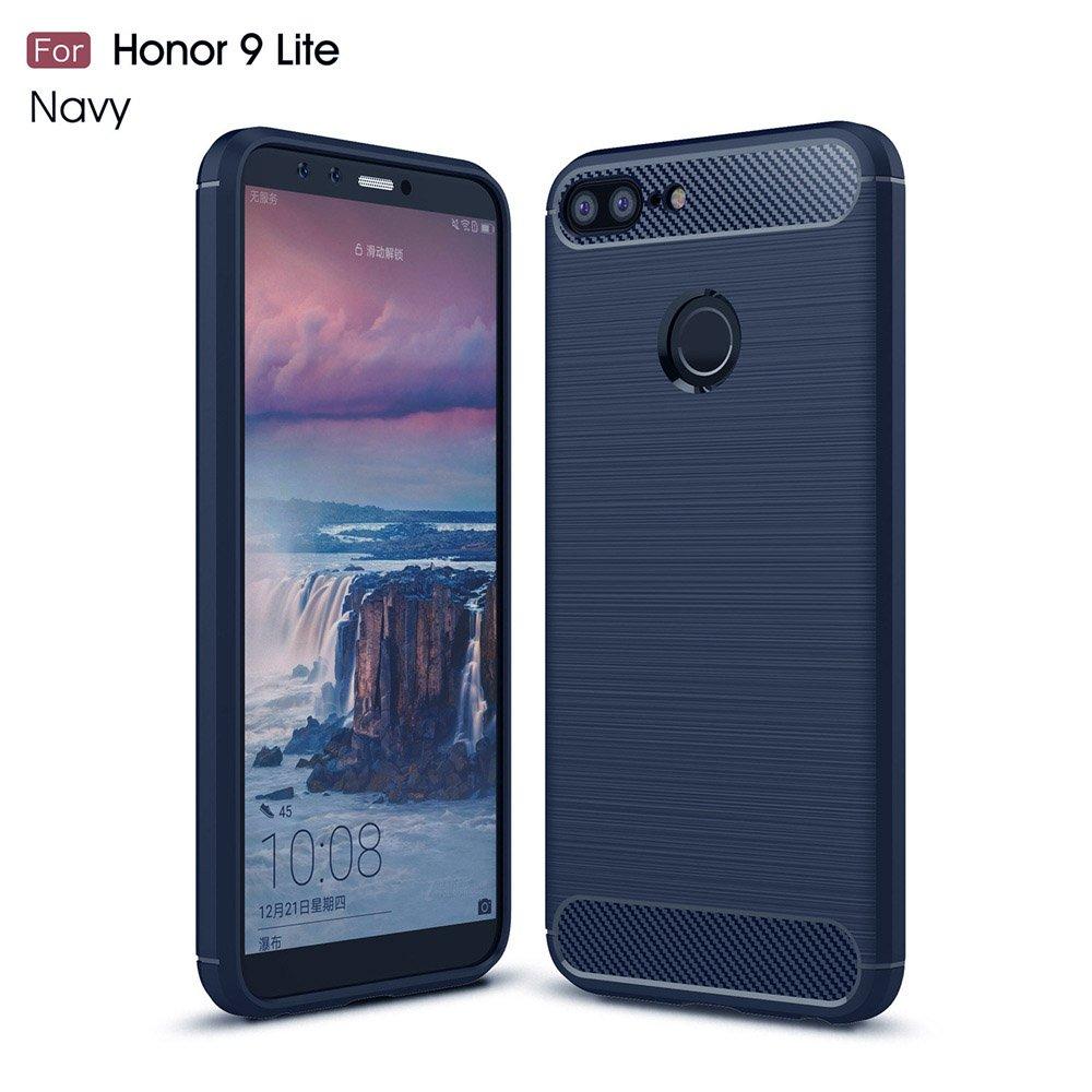 GOGME Funda para Huawei Honor 9 Lite, Slim Silicona Case, Azul ...