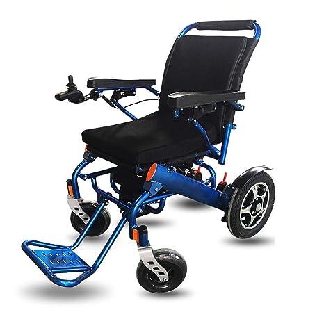 DLC@ED Silla de ruedas eléctrica, plegable, ligera, de 50 lb ...