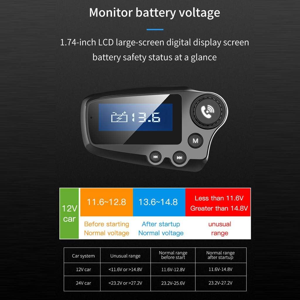 Chargeur de Voiture Adaptateur Mains Libres Multi-Fonctions pour autoradio USB pour Mains Libres bluetoot Duquanxinquan Bluetoot 5.0 Transmetteur FM Chargeur USB pour Lecteur MP3