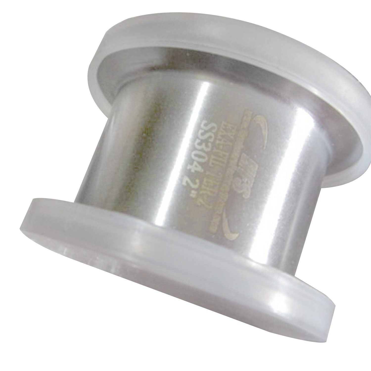 HFS R 1.5 Stainless Sanitary Filter Plate fits Tri-Clamp Ferrule Flange with 6mm holes