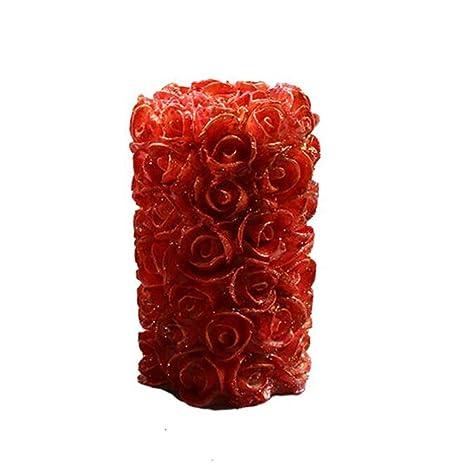 Fenteer - Moldes de Silicona Flexibles para decoración de Tartas de Boda
