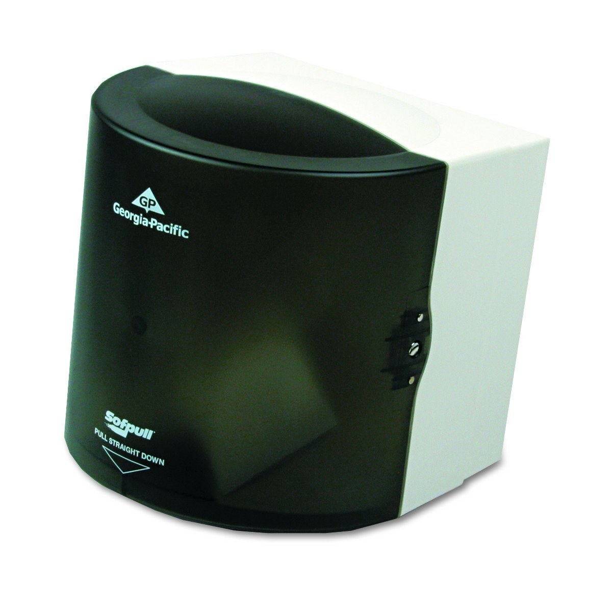 Georgia Pacific Professional 58201 Center Pull Hand Towel Dispenser, 10 7/8w x 10 3/8d x 11 1/2h, Smoke