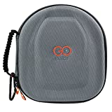 GOcase F3 case Headphone Case for Parrot Zik and Beoplay H6 (Wave, Silver)