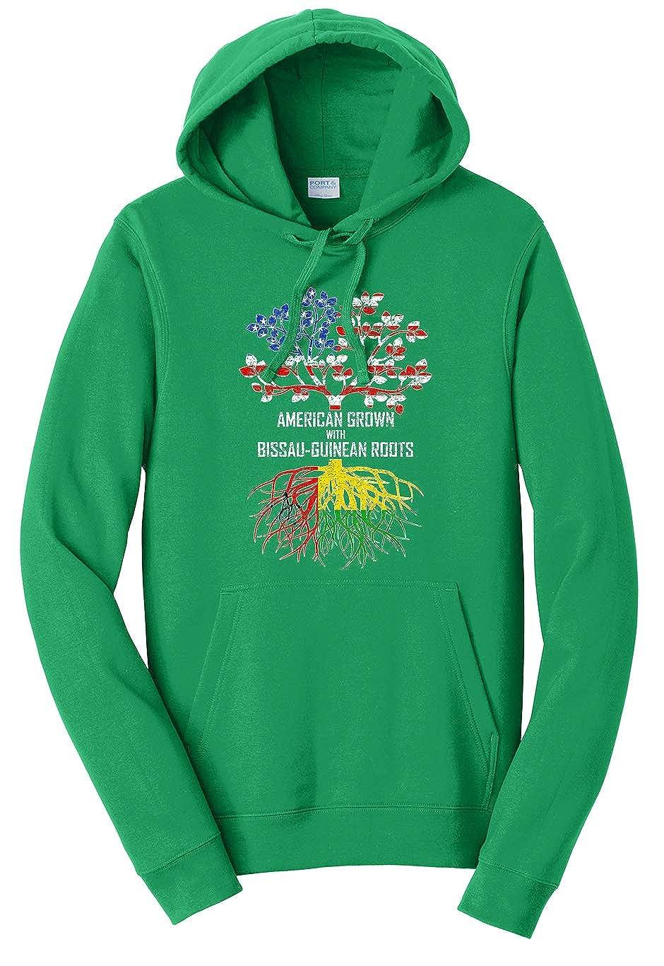 Tenacitee Unisex American Grown with Bissau-Guinean Roots Sweatshirt