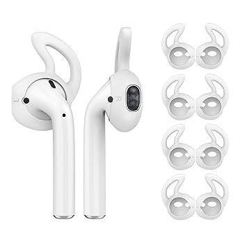 MoKo Almohadillas Auriculares para Apple AirPods/EarPods [4 PZS ...