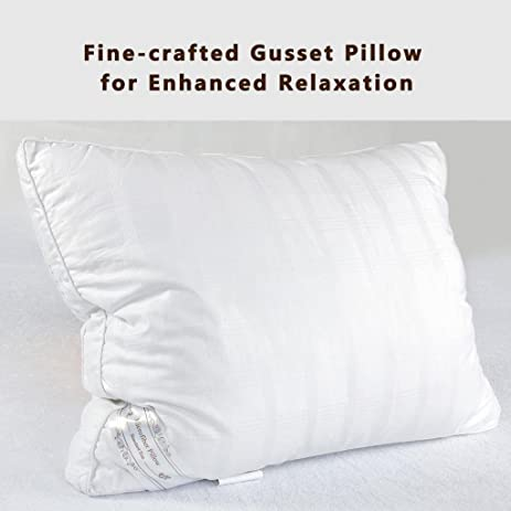 Down Alternative Pillow Fluffy Best Hotel Pillows Relief For Migraine Neck Pain Hypo