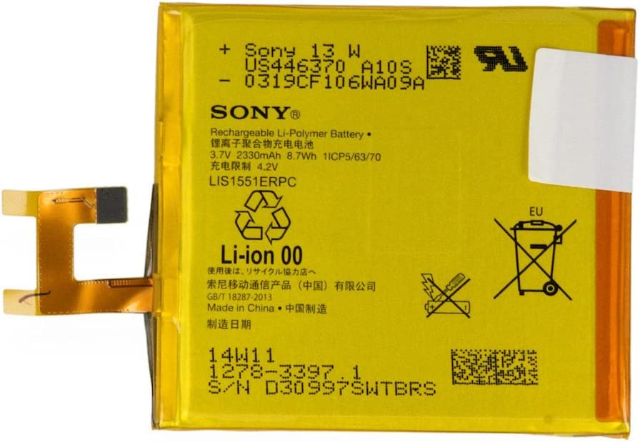 Sony Batería de Ion-Litio Xperia M2/E3/Aqua/M2: Amazon.es: Electrónica