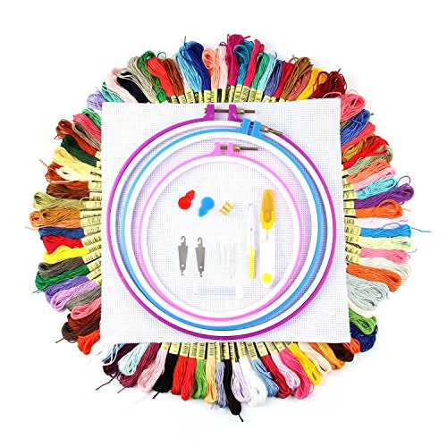 embroidery hoop assortment - 9