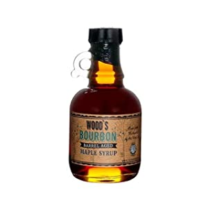 Woods Vermont, Maple Syrup Bourbon Barrel Aged, 8.45 Ounce