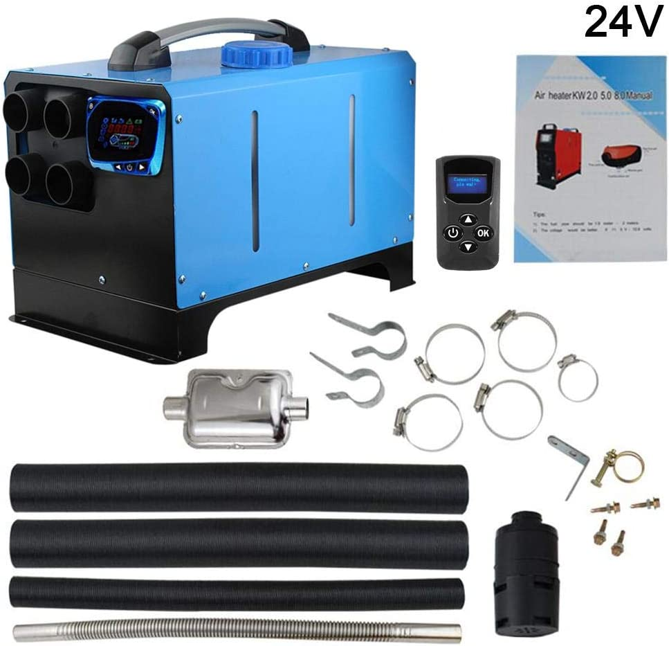 24v Diesel Air Heater Parking Heater All In One Integration Four Holes Diesel Air Heater 4 Holes Thrivinger 5kw 12v