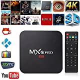MXQ Pro 4K 3D 64Bit Quad Android 7.1 Core Smart TV Box 1080P WIFI 1+8G