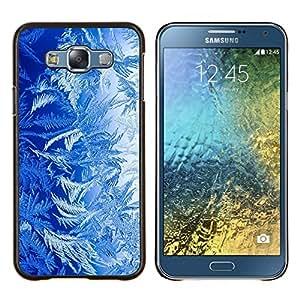 EJOOY---Cubierta de la caja de protección para la piel dura ** Samsung Galaxy E7 E700 ** --Plantas Azul Naturaleza Bosque Vida Arte Wallpaper