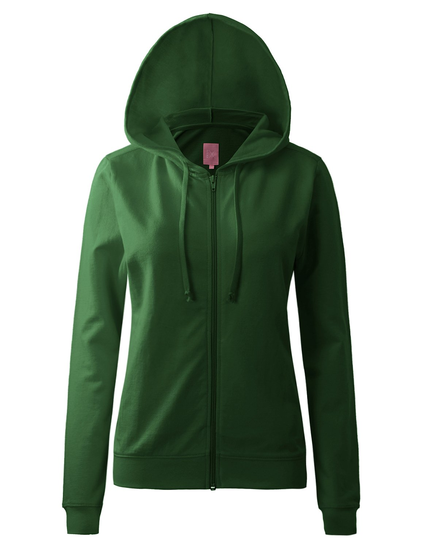 Regna X Womens Long Color Pocket Pullover Full