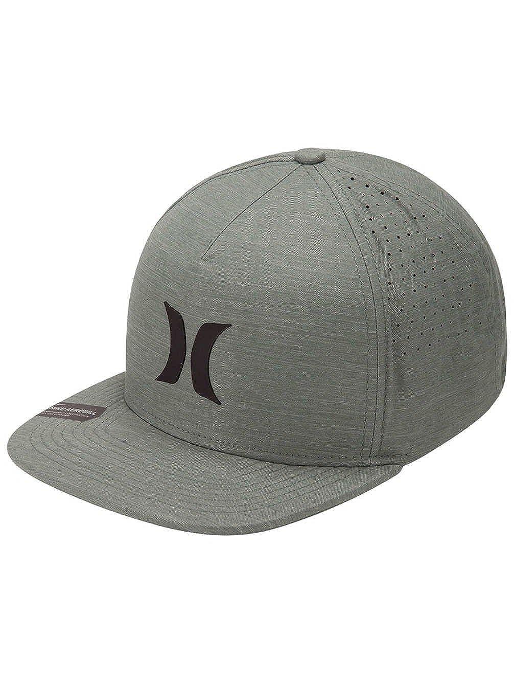 de0eb511eb9ad Amazon.com  Hurley Dri-Fit Icon 4.0 Hat - Clay Green Black  Clothing
