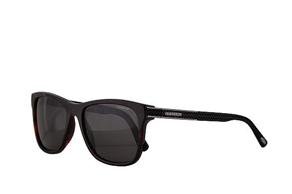 Amazon.com: Chopard SCH218 Sunglasses Brown Honey Havana w ...