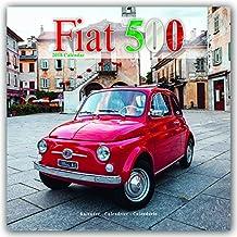 Fiat 500 Calendar - Calendars 2017 - 2018 Wall Calendars - Car Calendars - Fiat 500 Monthly Wall Calendars by Avonside