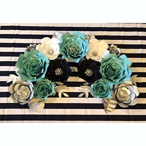 Amazon Com Tiffany And Co Nspired Paper Flower Set Handmade