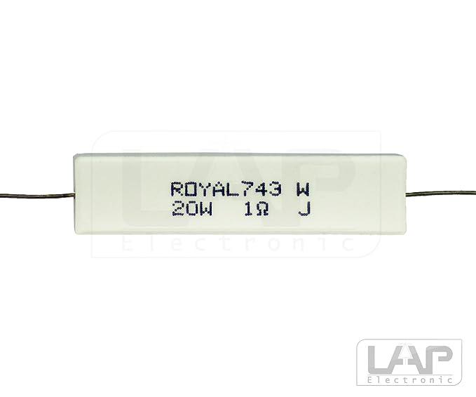 100Ohm 2,0W NEU Axial 5/% 10 x Metallschicht-Widerstand