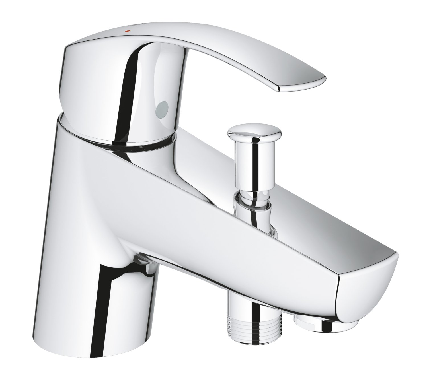 GROHE 33412002 Eurosmart Bath and Shower Mixer Tap - Chrome: Amazon ...