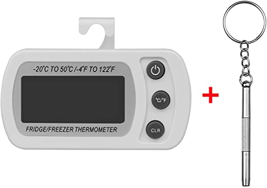 xhorizon TM Sr Digital nevera congelador Termómetro, pantalla LCD ...