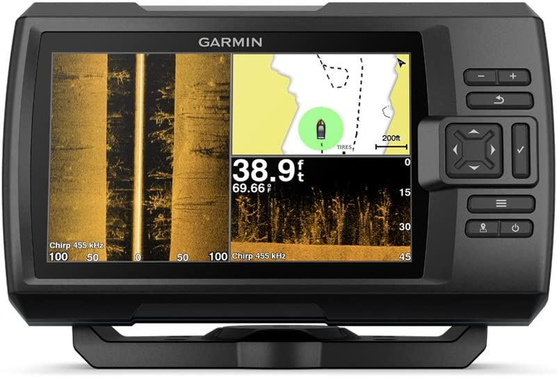 Garmin Striker 7SV with Transducer GPS Fish Finder, 010-01874-00