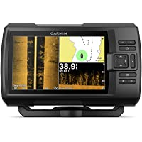 """$489 » Garmin Striker 7SV with Transducer, 7"""" GPS Fishfinder with Chirp Traditional, ClearVu and…"""