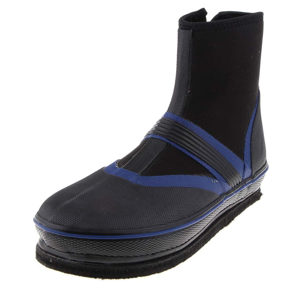 Homyl 1 Paar Angelstiefel Schuhe Anti Rutsch Nägel Spikes Wasserdichte Watschuhe B07MGFQYH5 Sport- & Outdoorschuhe Neue Produkte im Jahr 2018
