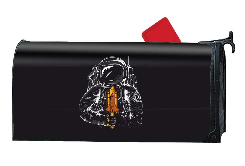 KSLIDS Garden Mailbox Cover Humor Magnetic Mailbox Wrap for Standard Size