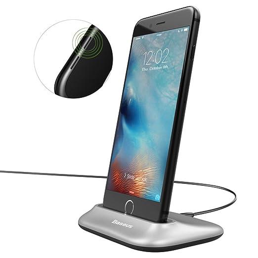 154 opinioni per Dock di ricarica IPhone,Supporto Smartphone per Hizek 2.4A Max Lightning