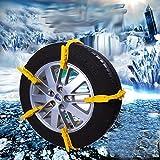 Sedeta® 1pcs auto universal de la nieve del neumático del invierno de la cadena del carro del…