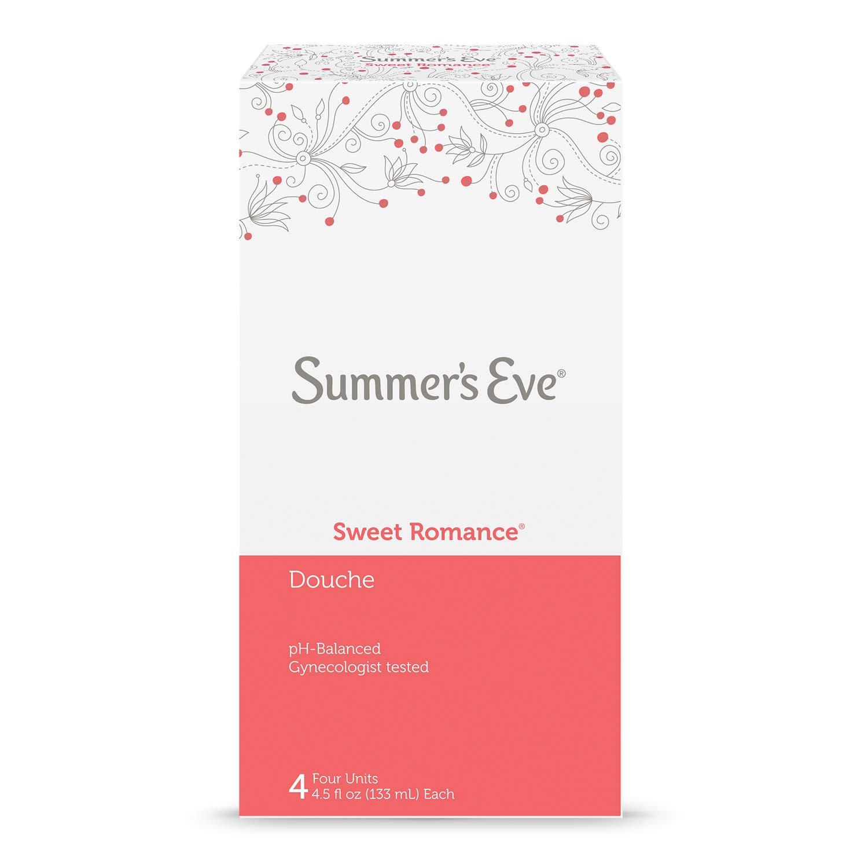 Summer's Eve Douche   Sweet Romance   4-4.5 Fluid Ounces Each   pH Balanced & Gynecologist Tested