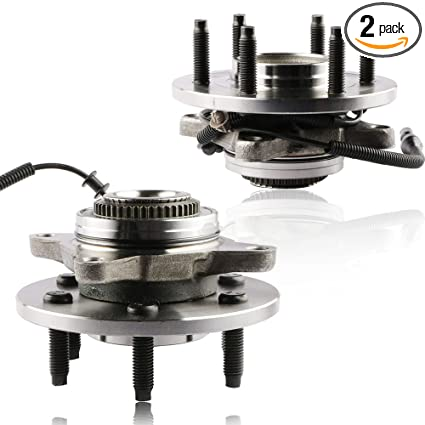 Mostplus Wheel Bearing Hub Front Wheel Hub And Bearing Assembly For Ford F 150 Lincoln Mark Lt 4x4 With Abs 6 Lug 515079x2 Set Of 2
