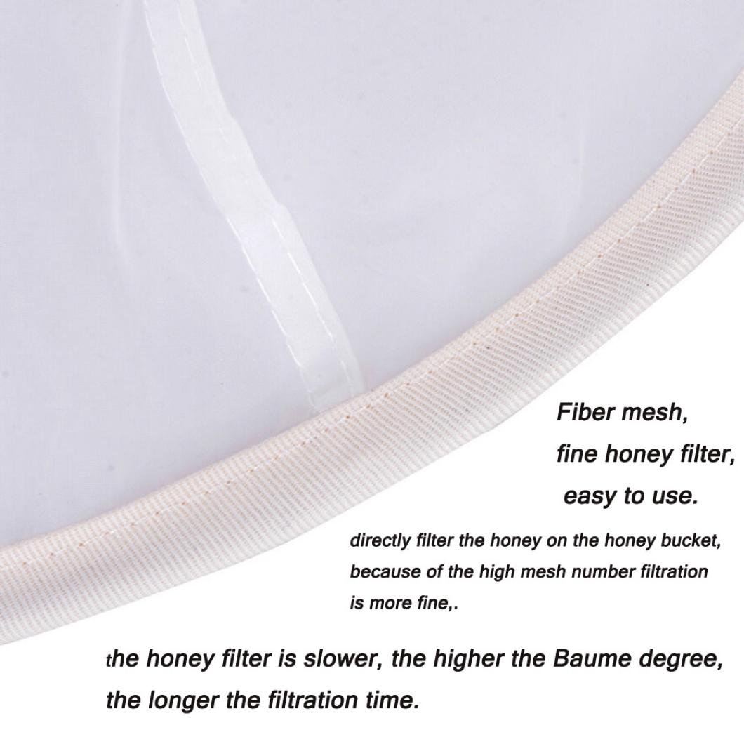 Amazon.com: Liping Apicultura Apicultura miel colador red de ...