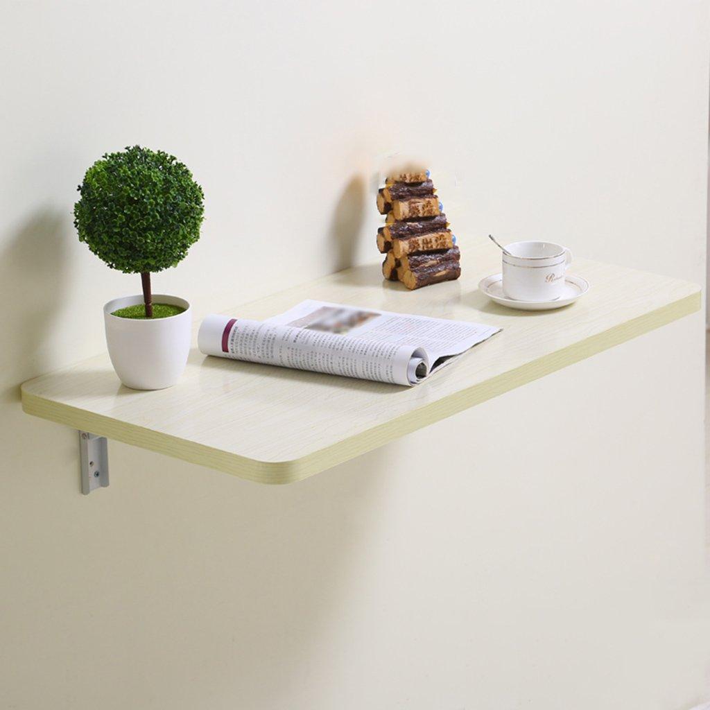 折りたたみライティングデスク壁掛けテーブルクラップボードシェルフ壁掛けラップトップデスクカラーサイズオプション ( 色 : C , サイズ さいず : 80*40cm ) B07B3M48MR 80*40cm|C C 80*40cm