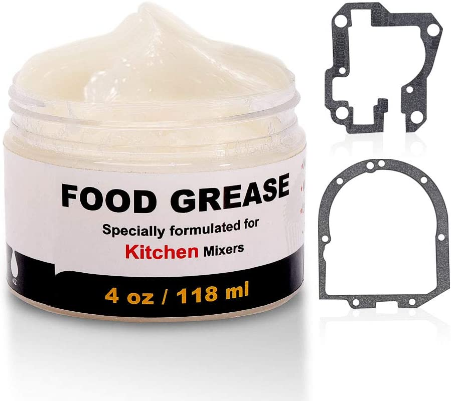 4 Oz Food Grade Grease & Gasket by Ohoho - Compatible With Kitchen Stand Mixer