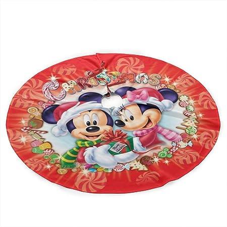 Return To Dust Falda para árbol de Navidad con diseño de Mickey ...