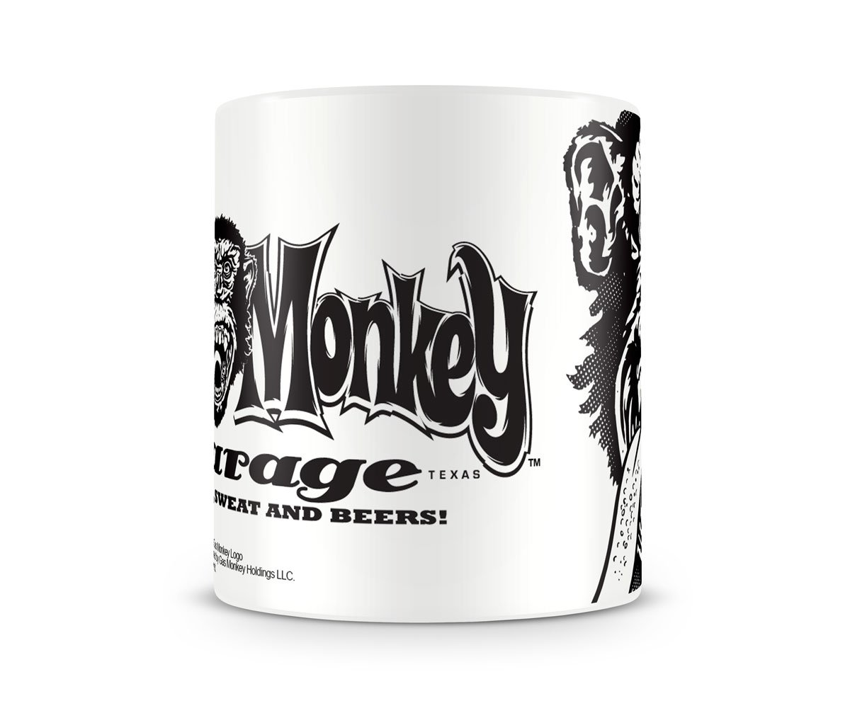 Gas Monkey Garage Kaffeebecher White